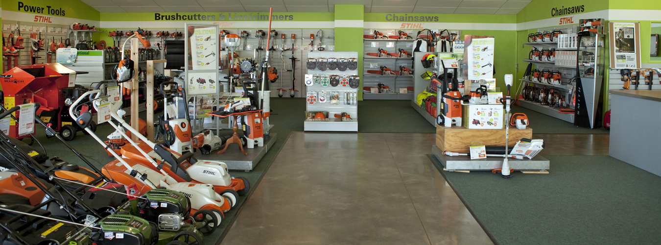 Lawn Care Tools Sold At STIHL SHOP Blenheim In Marlborough NZ