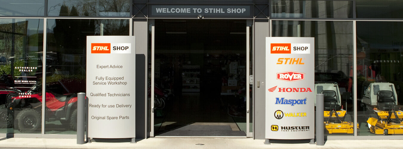 Outdoor Power Equipment Maintenance Is Provided By STIHL SHOP Blenheim