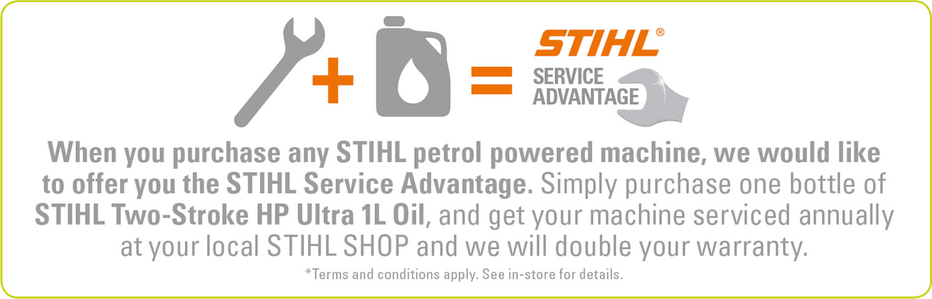 Service Advantage Equation For STIHL SHOP Blenheim