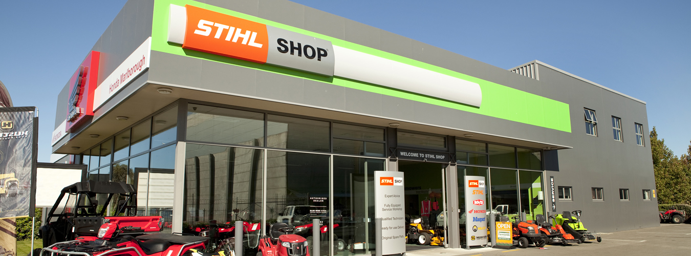 Street View Of STIHL SHOP Blenheim In Marlborough NZ