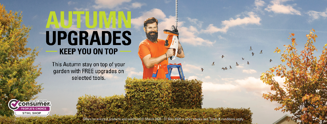 Autumn 2019 Promo At STIHL SHOP Blenheim